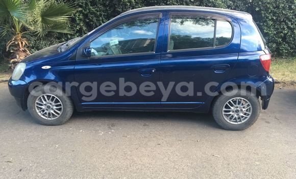 Buy New Toyota Vitz Blue Car in Addis–Ababa in Ethiopia
