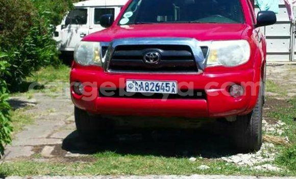 Buy Used Toyota Tacoma Red Car in Addis Ababa in Ethiopia