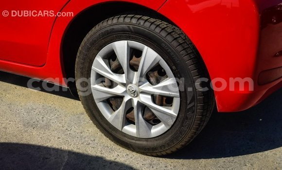 Buy Import Toyota Yaris Red Car in Import - Dubai in Ethiopia