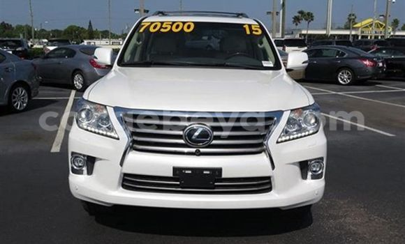 Buy New Lexus LX White Car in Addis–Ababa in Ethiopia