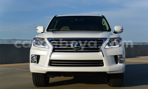 Buy New Lexus LX 450 White Car in Addis–Ababa in Ethiopia