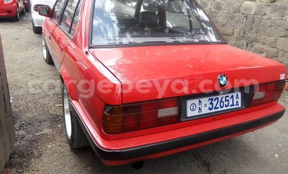 Buy Used BMW 3–Series Red Car in Addis–Ababa in Ethiopia