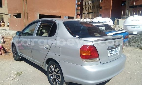Buy Used Toyota Platz Silver Car in Addis–Ababa in Ethiopia