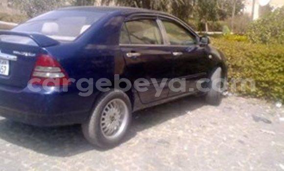 Buy Used Toyota Corolla Blue Car in Addis–Ababa in Ethiopia