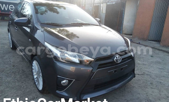 Buy Used Toyota Yaris Black Car in Addis–Ababa in Ethiopia