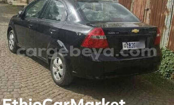 Buy Used Chevrolet Aveo Black Car in Addis–Ababa in Ethiopia