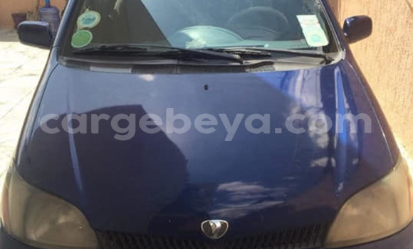 Buy Used Toyota Platz Blue Car in Addis–Ababa in Ethiopia