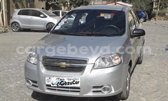Buy Used Chevrolet Aveo Silver Car in Addis–Ababa in Ethiopia