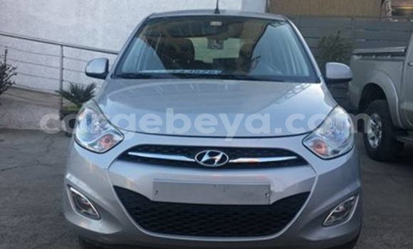 Buy Used Hyundai i10 Silver Car in Addis–Ababa in Ethiopia