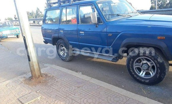 Buy Used Toyota Land Cruiser Blue Car in Addis–Ababa in Ethiopia