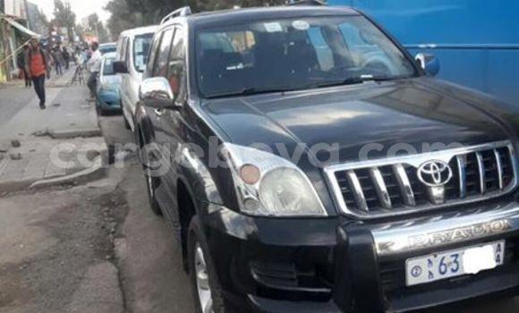 Buy Used Toyota Land Cruiser Prado Black Car in Addis–Ababa in Ethiopia