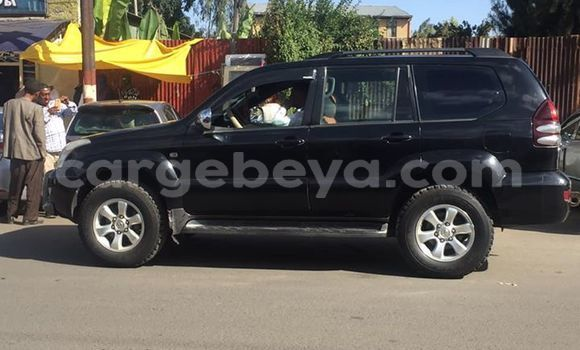 Buy Used Toyota Land Cruiser Prado Black Car in Addis–Ababa in Ethiopia