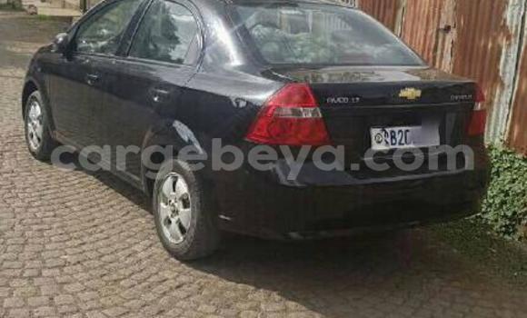 Buy Used Chevrolet Aveo Black Car in Addis–Ababa in Ethiopia