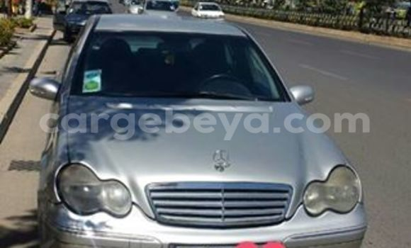 Buy Used Mercedes-Benz C–Class Silver Car in Addis–Ababa in Ethiopia
