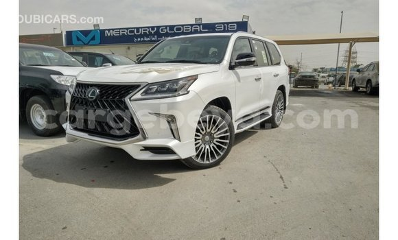 Buy Import Lexus LX White Car in Import - Dubai in Ethiopia