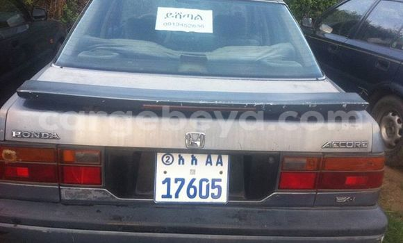 Buy Used Honda Accord Silver Car in Addis–Ababa in Ethiopia