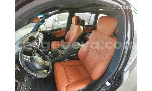 Buy Import Lexus LX Black Car in Import - Dubai in Ethiopia