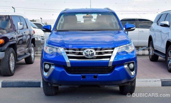 Buy Import Toyota Fortuner Blue Car in Import - Dubai in Ethiopia