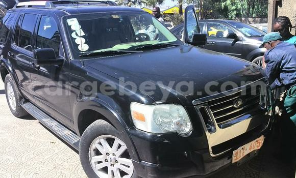 Buy Used Ford Explorer Black Car in Addis Ababa in Ethiopia