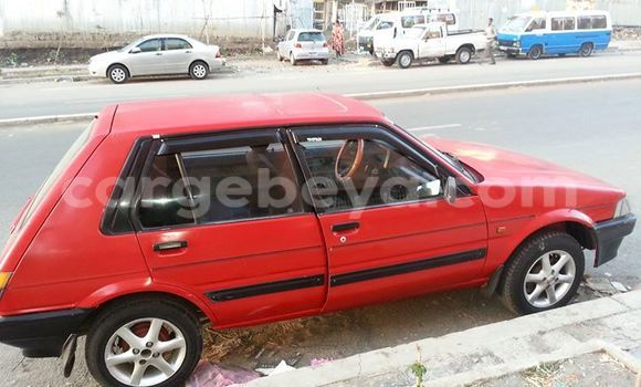 Buy Used Toyota Starlet Red Car in Addis–Ababa in Ethiopia