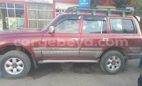 Buy Used Toyota Land Cruiser Red Car in Addis–Ababa in Ethiopia