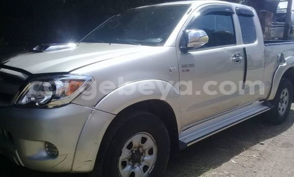 Buy Used Toyota Hilux Silver Car in Addis–Ababa in Ethiopia