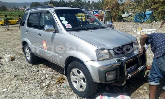 Buy Used Daihatsu Terios Silver Car in Addis–Ababa in Ethiopia