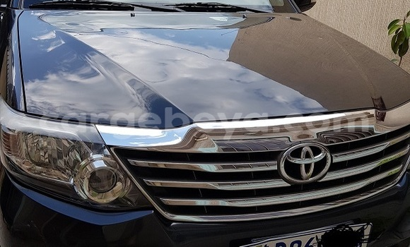 Buy Used Toyota Fortuner Black Car in Addis–Ababa in Ethiopia