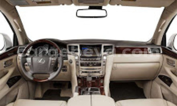 Buy Used Lexus LX Silver Car in Addis–Ababa in Ethiopia