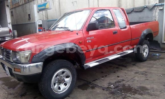 Buy Used Toyota Hilux Red Car in Addis–Ababa in Ethiopia