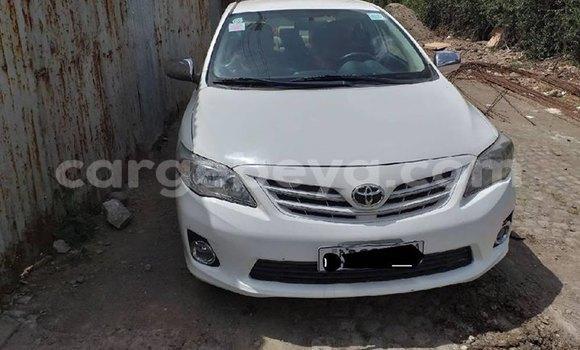Acheter Occasion Voiture Toyota Corolla Blanc à Addis Ababa, Ethiopie