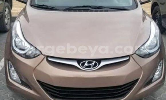 Buy Used Hyundai Elantra Brown Car in Addis–Ababa in Ethiopia
