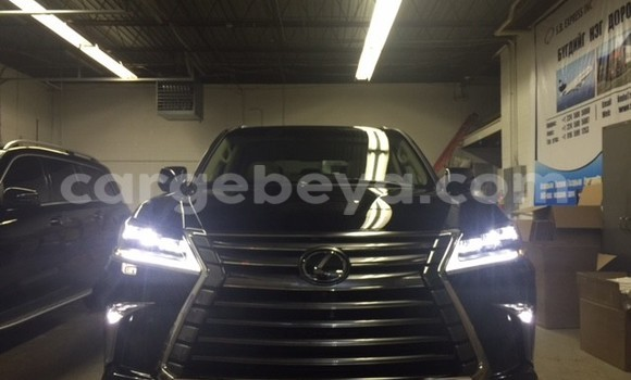 Buy Used Lexus LX Black Car in Addis–Ababa in Ethiopia