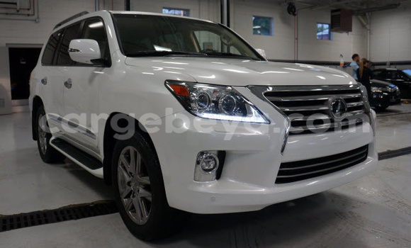 Buy Used Lexus LX White Car in Debre–Mark'os in Ethiopia