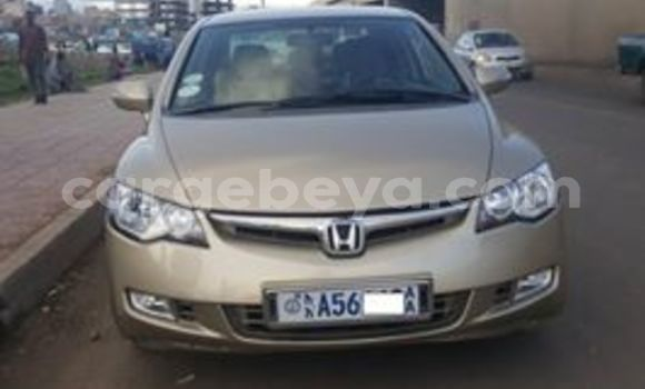 Buy Used Honda Civic Beige Car in Addis–Ababa in Ethiopia