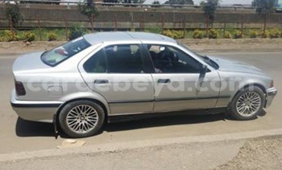Buy Used BMW 3–Series Silver Car in Addis–Ababa in Ethiopia