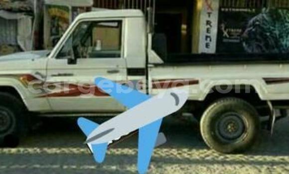 Oofamaa Toyota Land Cruiser White Makiinaa iti Addis–Ababa keessatti Ethiopia keessatti