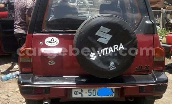 Buy Used Suzuki Vitara Red Car in Addis–Ababa in Ethiopia