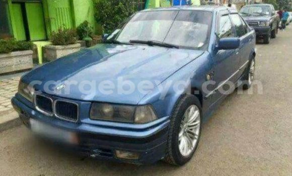Buy Used BMW 3-Series Blue Car in Addis–Ababa in Ethiopia