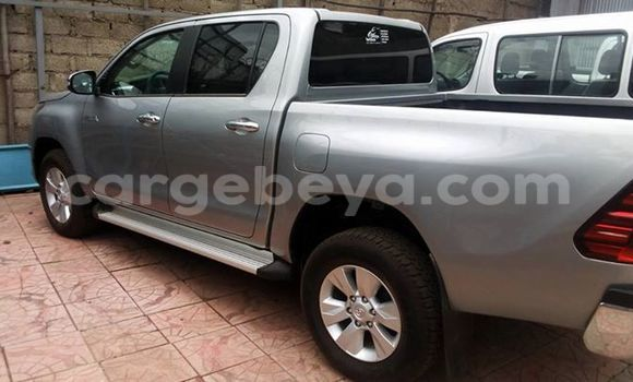 Buy New Toyota Hilux Silver Car in Addis Ababa in Ethiopia
