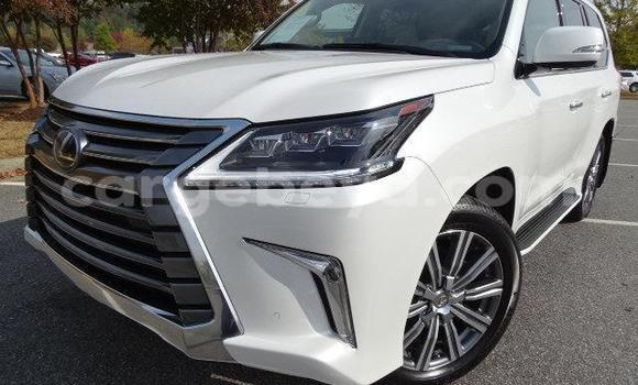 Buy Used Lexus LX White Car in Addis–Ababa in Ethiopia