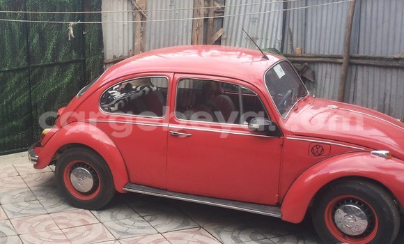 Buy Used Volkswagen Beetle Red Car in Addis Ababa in Ethiopia