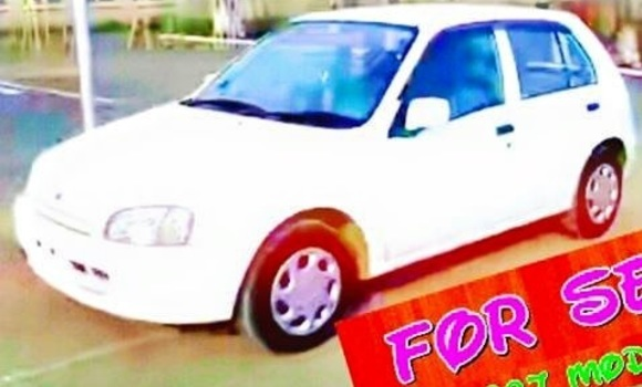 Buy Used Toyota Starlet White Car in Addis–Ababa in Ethiopia