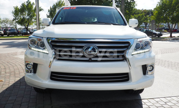 Buy New Lexus LX 570 White Car in Harar in Ethiopia