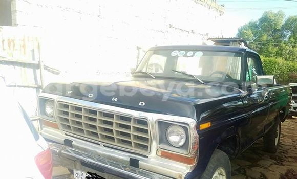Buy Used Ford Pickup Blue Car in Addis Ababa in Ethiopia