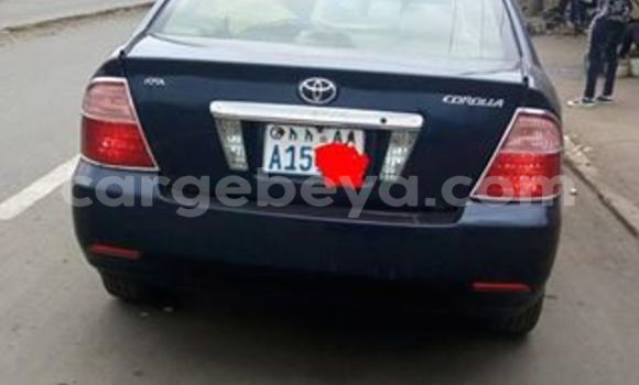 Buy Used Toyota Corolla Black Car in Addis–Ababa in Ethiopia