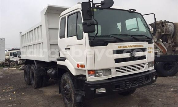 Buy Used Nissan UD White Truck in Addis–Ababa in Ethiopia