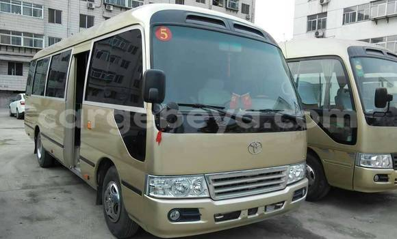 Buy Used Toyota Coaster Beige Car in Addis–Ababa in Ethiopia