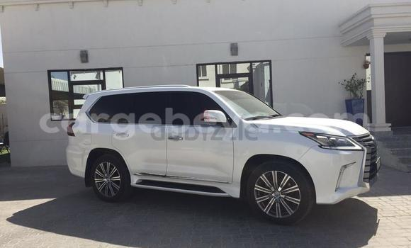 Buy New Lexus LX 570 White Car in Addis–Ababa in Ethiopia