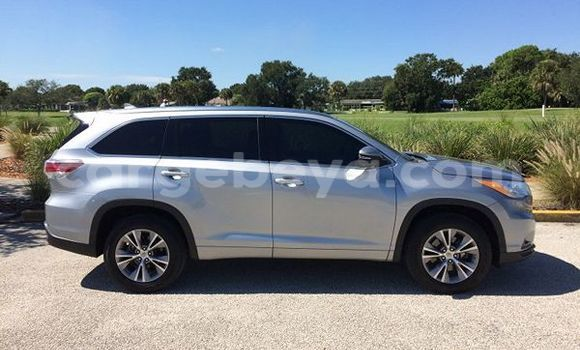 Buy Used Toyota Highlander Silver Car in Bishoftu in Ethiopia